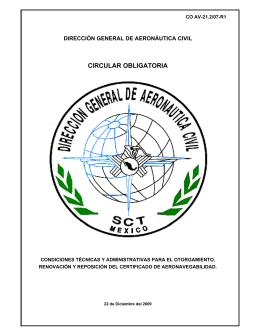 circular obligatoria - Secretaría de Comunicaciones y Transportes