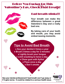 STC Valentines Day Dental Flyer (Eng).pub
