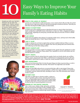 10 Ways Eating Habits Alt