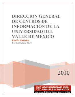 Reseña de la DGCI - Biblioteca UVM