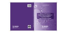 Módulo de Principios de Epidemiología para el