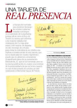 Real tarjeta de presentación Alfonso XIII