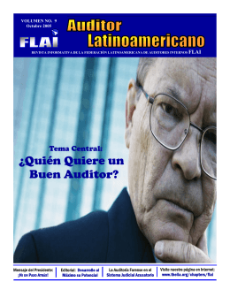 Revista FLAI - Volumen 10 - The Institute of Internal Auditors