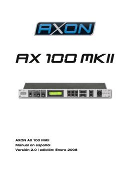 AXON AX 100 MKII V. 2.0 (Español)