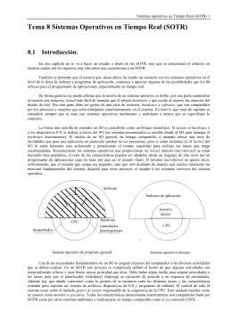 Tema 7 Sistemas Operativos en Tiempo Real (RTOS)