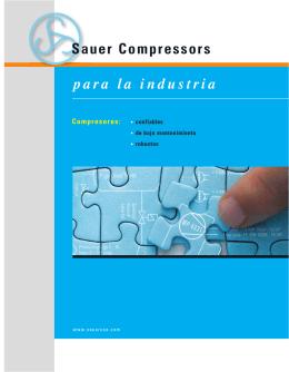 para la industria Sauer Compressors