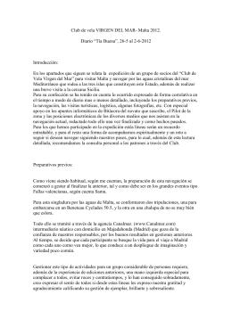 Diario del Tia Buena y el Moonspirit por Malta y Siracusa, escrito por