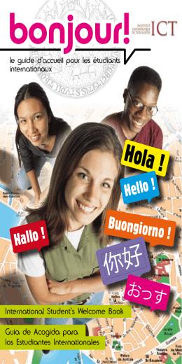 bonjour! - Institut Catholique de Toulouse