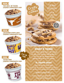view Collegiate Cookie Dough