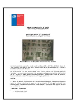Hospital de Carabineros General Humberto Arriagada Valdivieso
