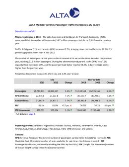 ALTA Traffic Report