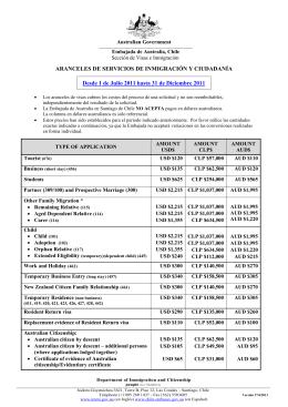 ¿como pagar una solicitud de visa u otros servicios en santiago de