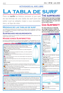 The surfboard Das Surfbrett - fuerteventura magazine hoy