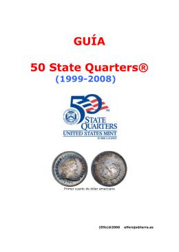 GUÍA 50 State Quarters® - Mis Colecciones (Monedas, Billetes y