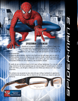 SPIDERMAN 3 EYEWEAR