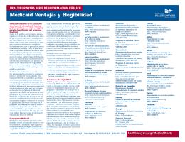 Medicaid Ventajas y Elegibilidad