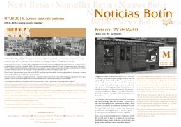 Newsletter Febrero 2015