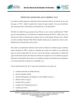 Servicio Nacional de Estudios Territoriales