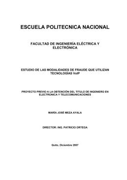 CAPITULO I FUNDAMENTOS DE VOZ SOBRE IP (VoIP)