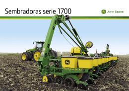 Sembradoras serie 1700