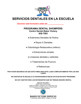 School Based Preventive Dental Hygiene Program