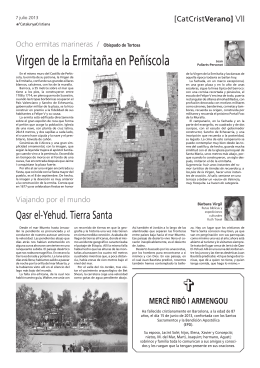 Virgen de la Ermitaña en Peñíscola