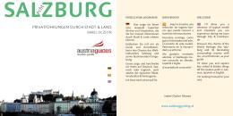 Salzburg Privatführung - privatführung