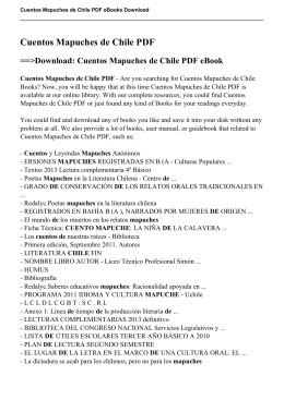 Cuentos Mapuches de Chile pdf - Excel Equipment Company Inc.