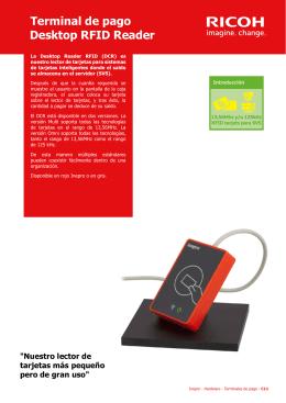 Terminal de pago Desktop RFID Reader