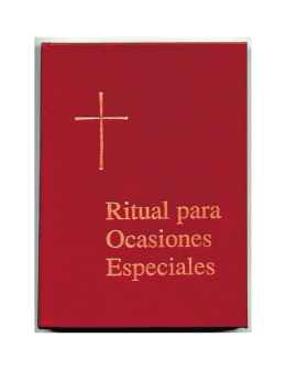 Ritual para Ocasiones Especiales