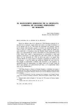 Revista de literatura - CSIC - Consejo Superior de Investigaciones