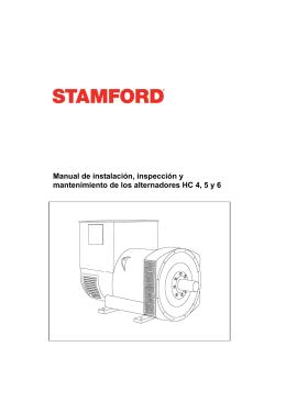 Manual de Instalación, Servicio y Mantenimiento HC