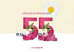 CATÁLOGO DE REGALOS 2013