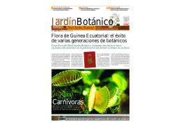 Carnívoras - Real Jardín Botánico