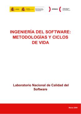 Ingeniería del software: Metodologías y ciclos de vida