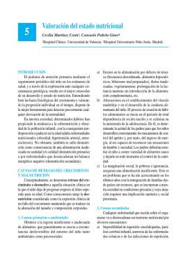 Valoración del estado nutricional - Asociación Española de Pediatría