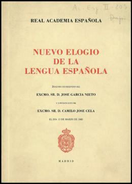 NUEVO ELOGIO DE LA LENGUA ESPAÑOLA