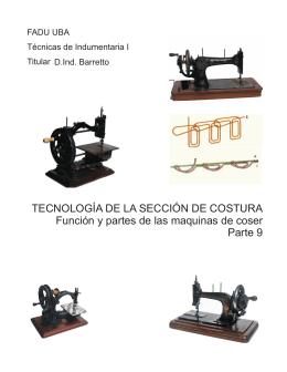 tecnologia del sector costura 9 Funcion y partes