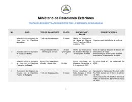 P A I S - Ministerio de Relaciones Exteriores