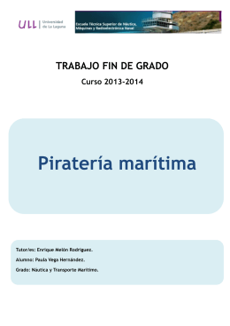 Pirateriamaritima - Repositorio institucional ULL