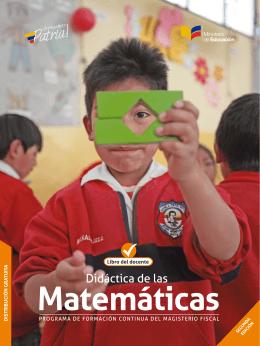 Libro del docente - Ministerio de Educación