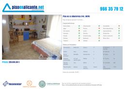 966 35 78 12 Piso en la Albufereta (ref. 3870)