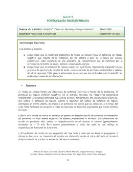 2. Guía de Potenciales Bioeléctricos