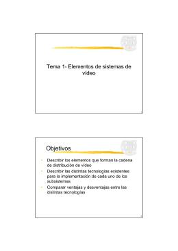 Objetivos - PoliformaT