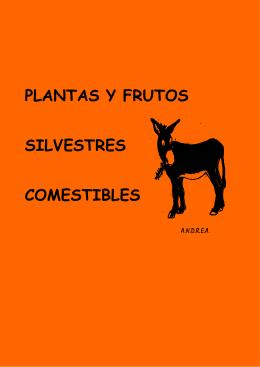 Plantas y frutos silvestres comestibles, del Dr. César