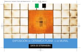 Exposicion Ceramica Plana - Asociación Cultural Amigos de