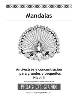 Mandalas Anti-estrés y concentración para