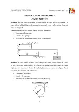 problemas de vibraciones - mecánica aplicada (1807)