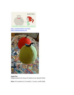 http://spudandchloe.com/blog http://spudandchloe.com Apple Hat
