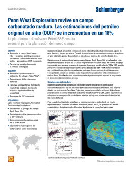 Penn West Exploration revive un campo
